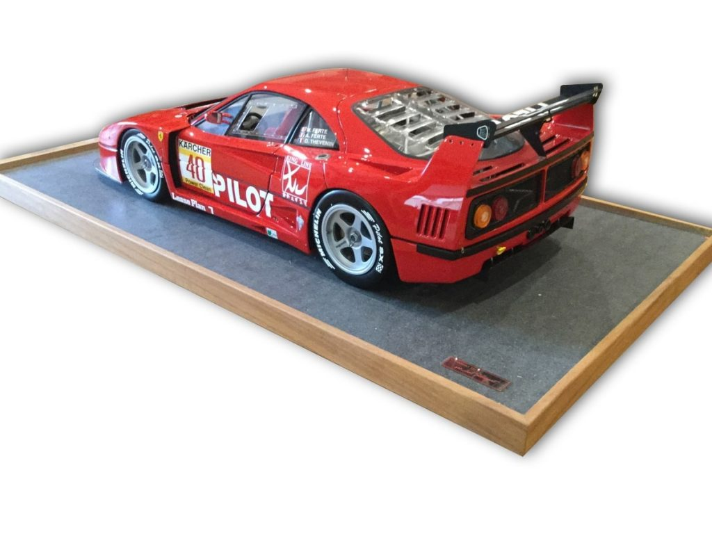 Ferrari F40 LM made by Michel Stassart in 1:8 Scale