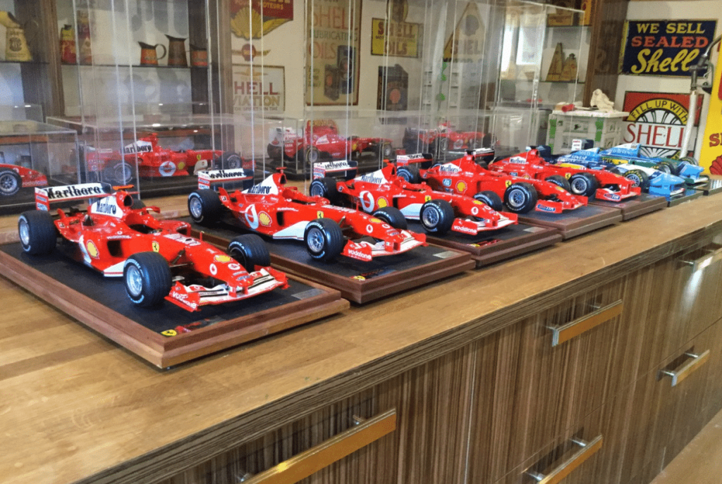 Michael Schumacher World Championship Model Collection