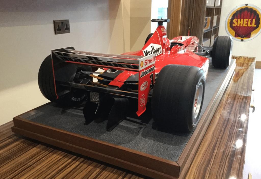Michael Schumacher World Championship Model Collection
