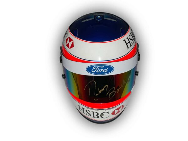 Rubens Barrichello Race used Arai helmet