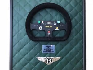 Bentley EXP Speed 8 Steering Wheel from the 2001 Le Mans car