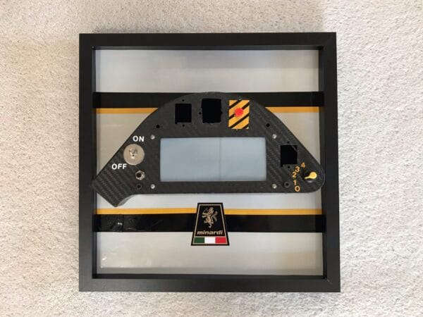 carbon fibre dashboard display